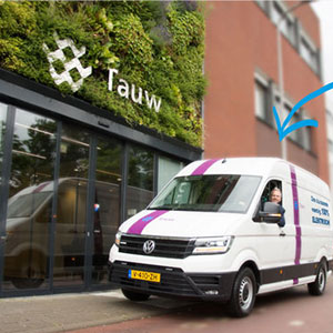 Hydrogen car TAUW